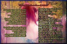 Poesia Amore Specchiata in Anime Di Vetro Canzone Amen