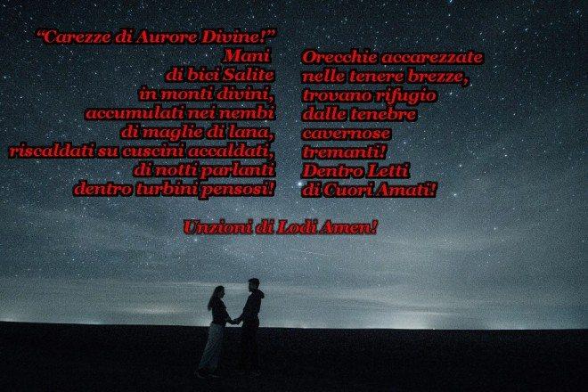 Poesia Amore Stelle Aurora Cuore Coccola Passione Preghera Amen