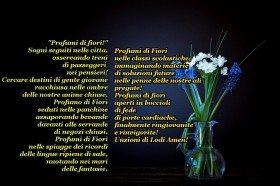 Poesia Profumo di fiori amore cuore scuola fede amen dio preghiera